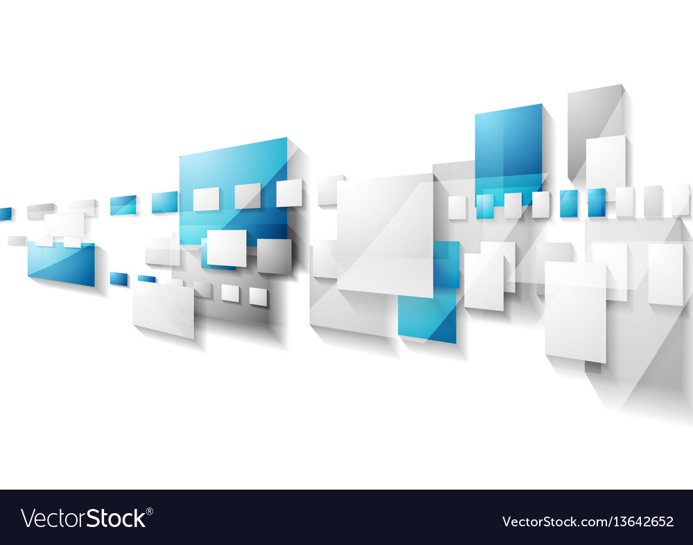 Grey and blue geometric motion background