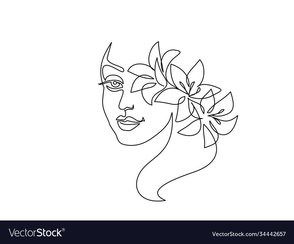 Portrait beautiful woman on white background