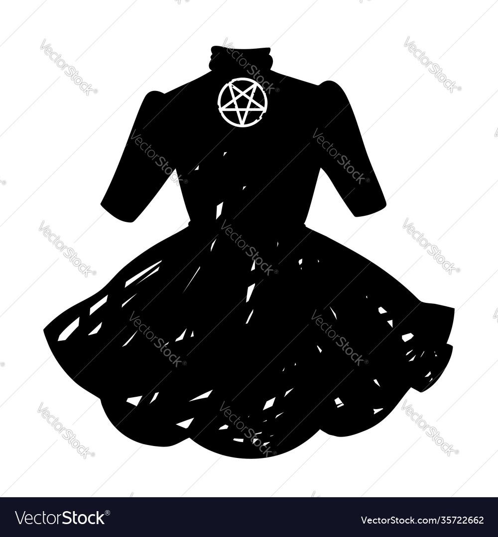Cute womens dress gothic style