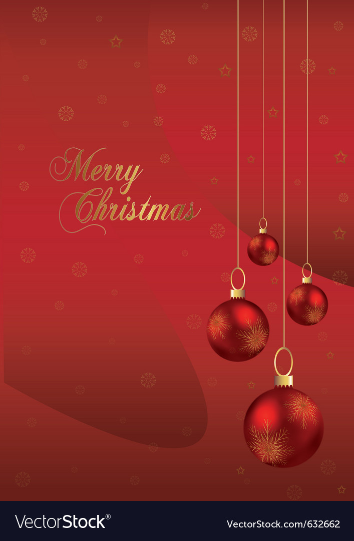 elegant christmas background with red and gold chr vector 632662