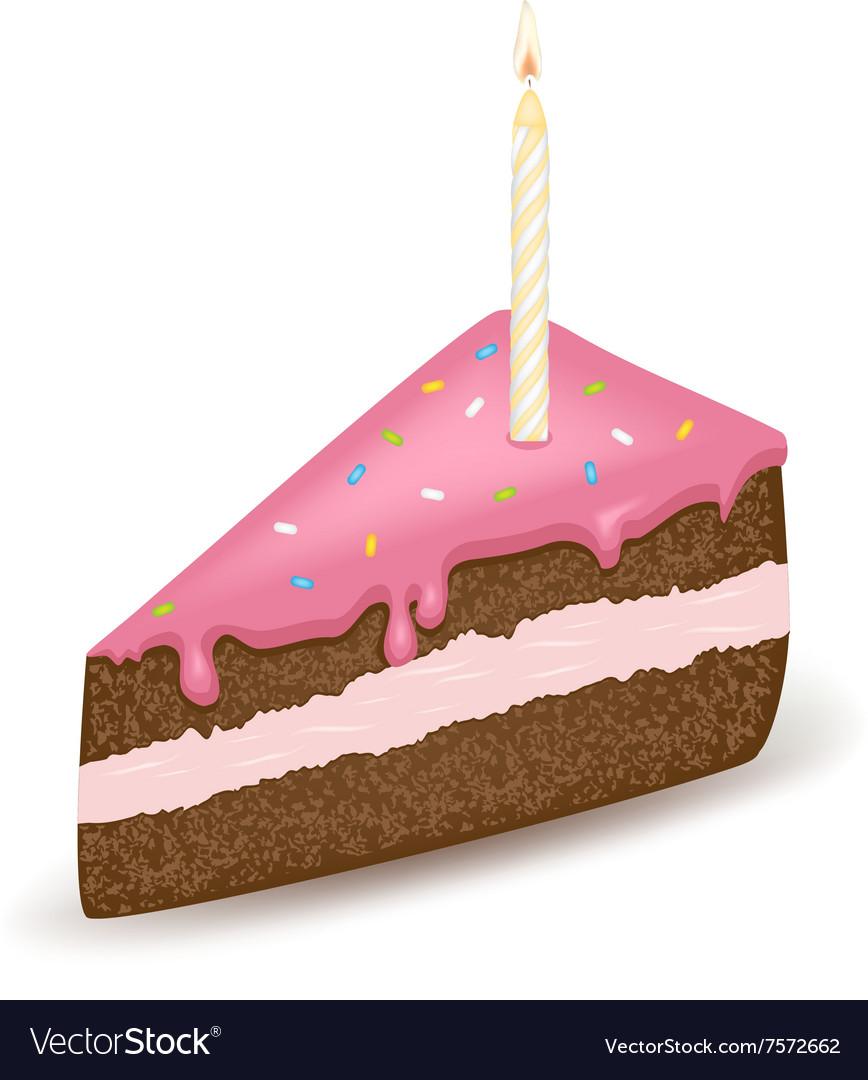 Pink Birtday Cake