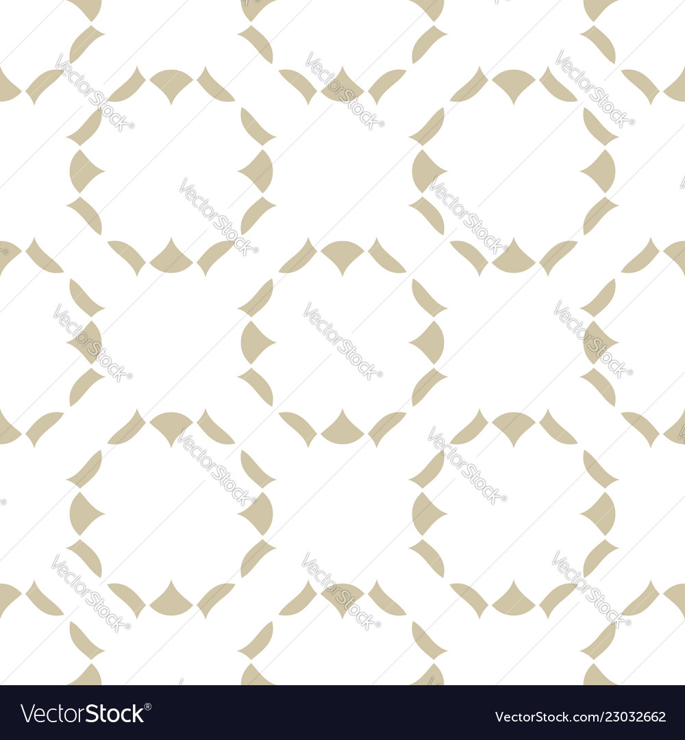 Subtle golden seamless pattern abstract ornament