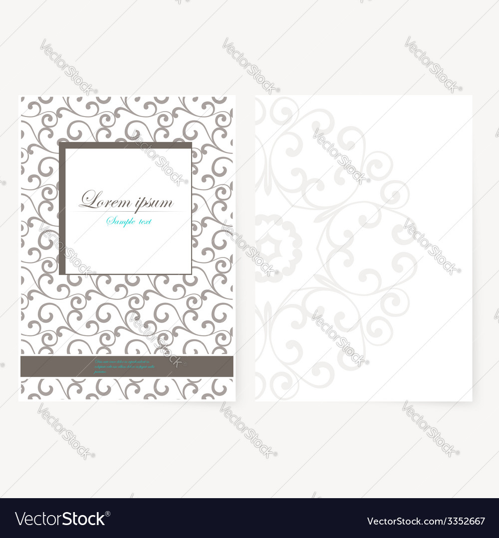 Decorative sheet of paper with oriental design