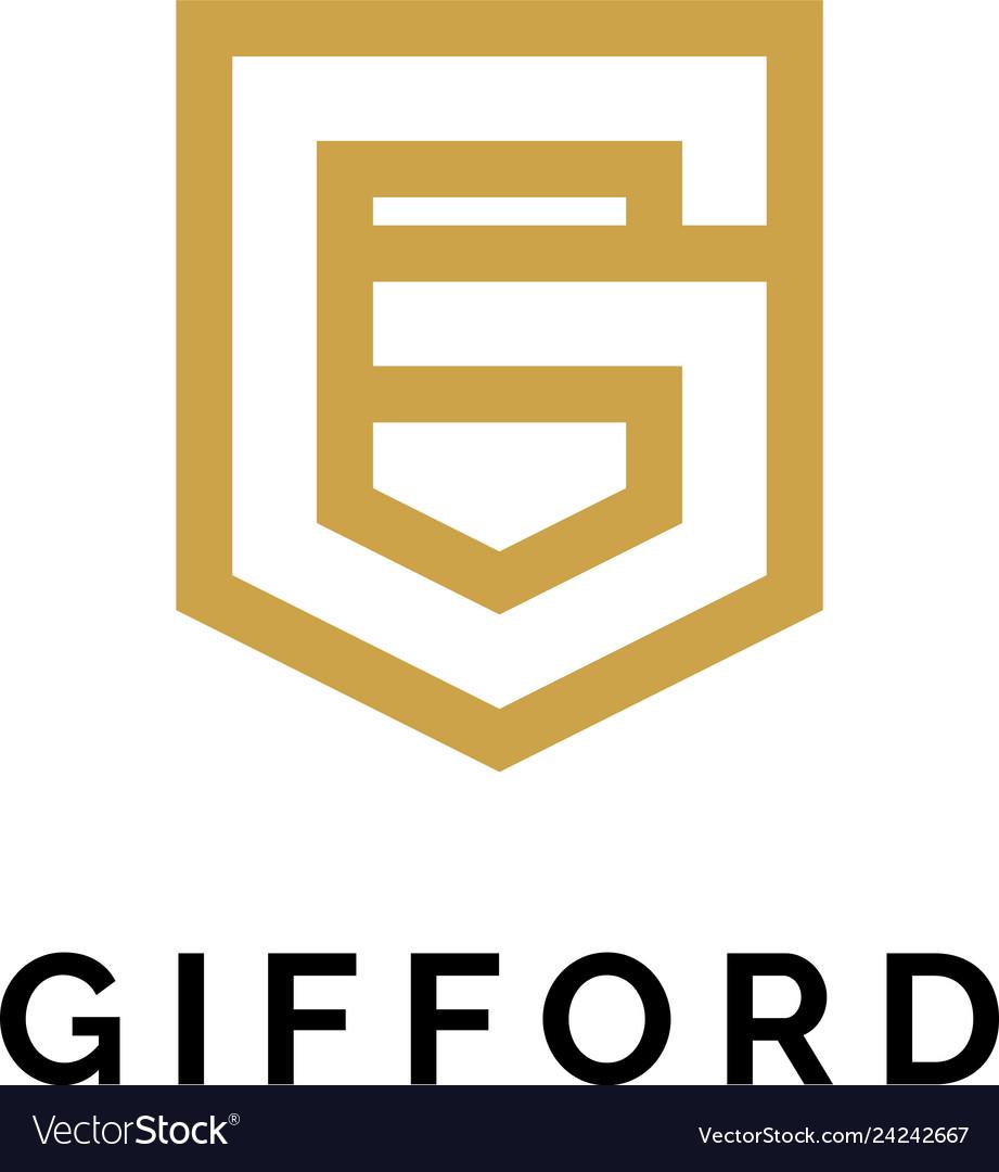 G logo concept creative minimal design template