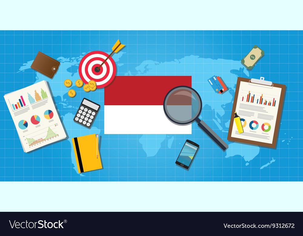 Indonesia economy economic condition country with