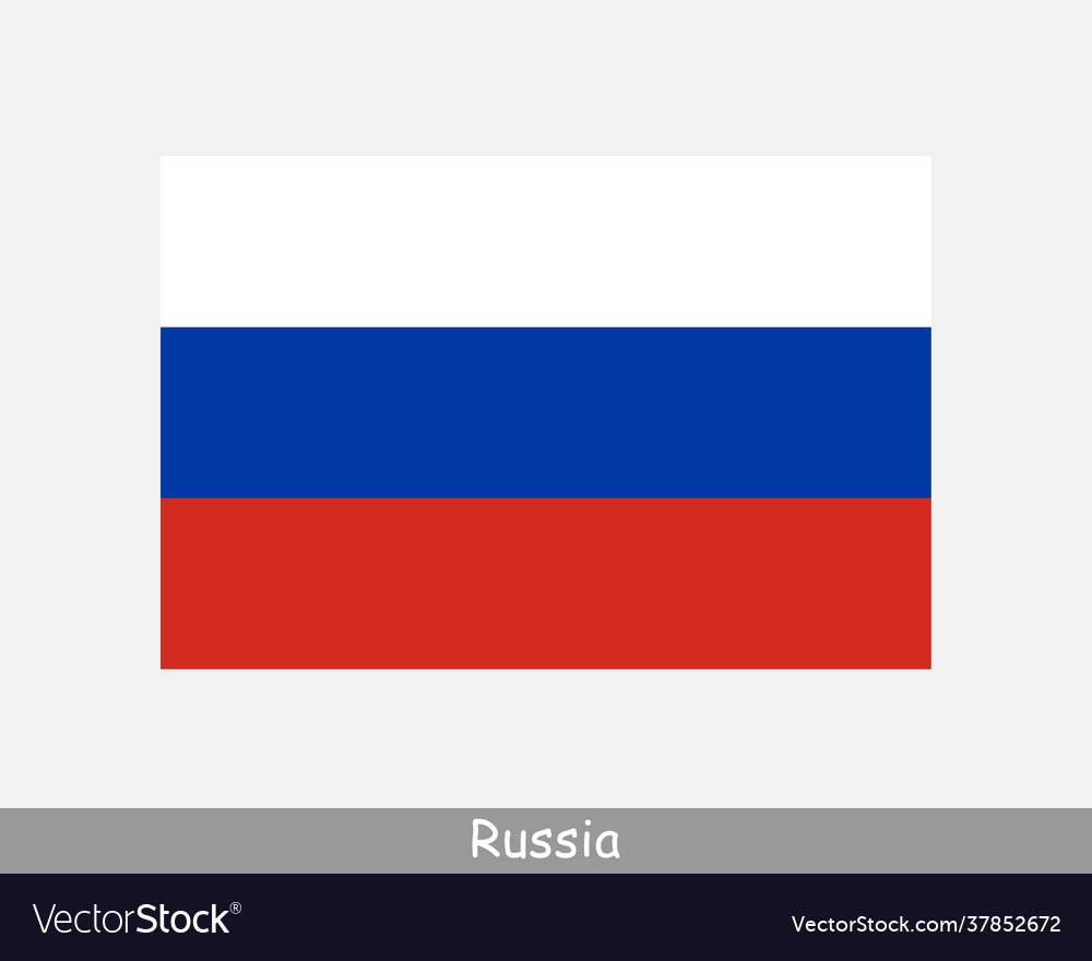 Russia russian national country flag banner icon