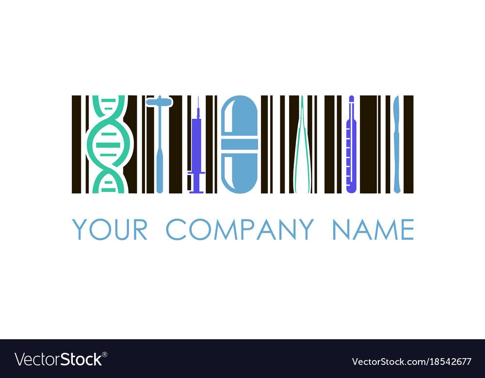 Logo for medicine pharmacy used for