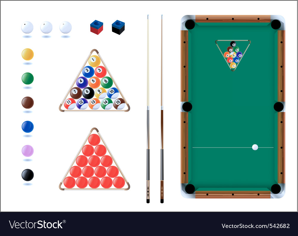 Snooker pool sport icons