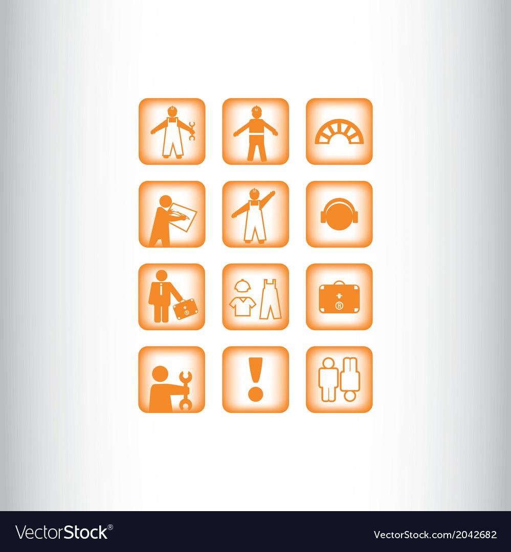 Symbol elements set for web design
