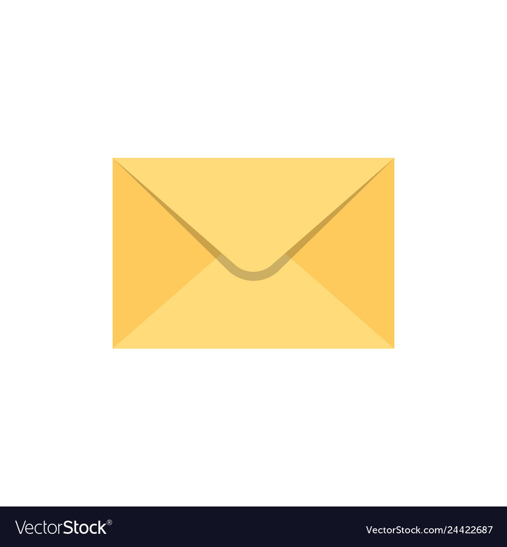 Envelope flat icon
