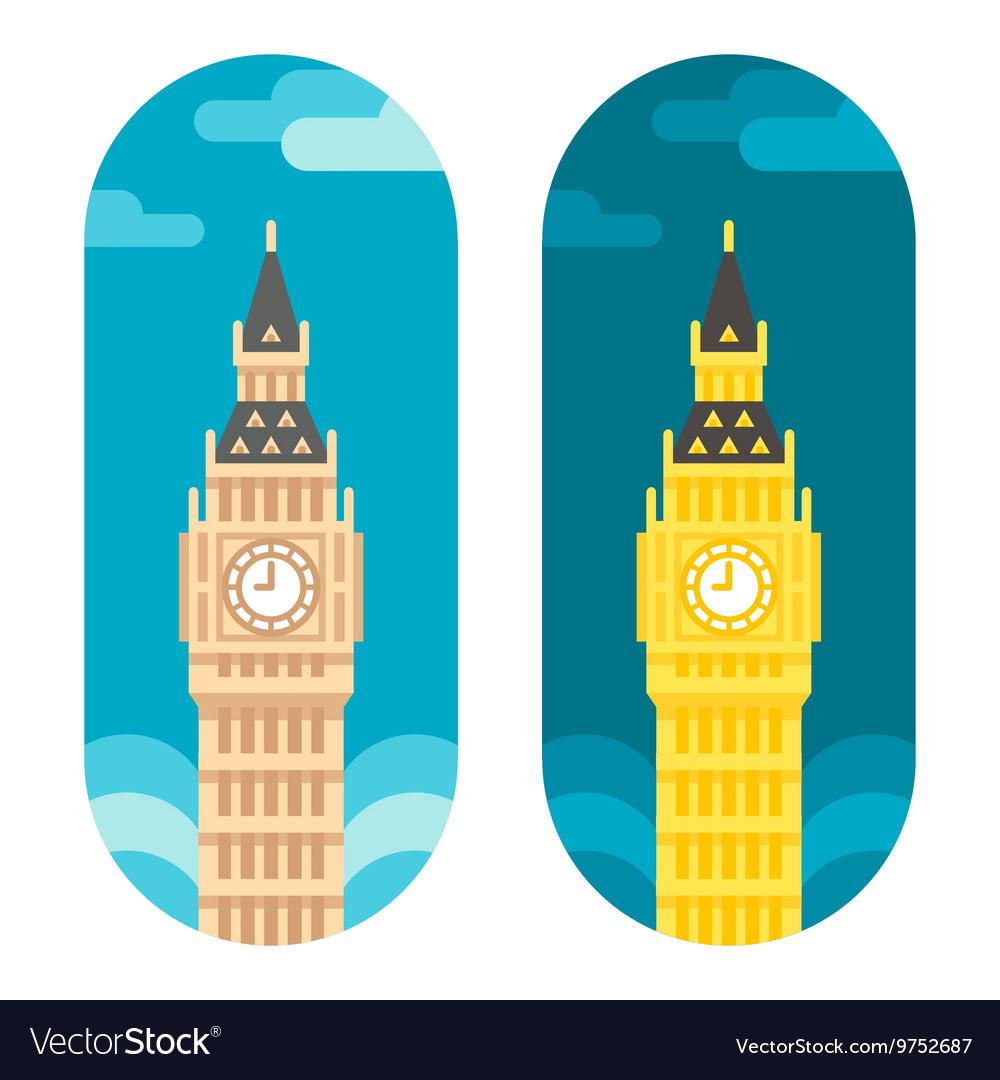 Flat design Big Ben