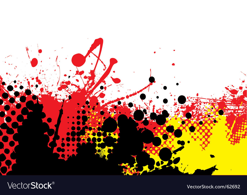 Hot tone vector image