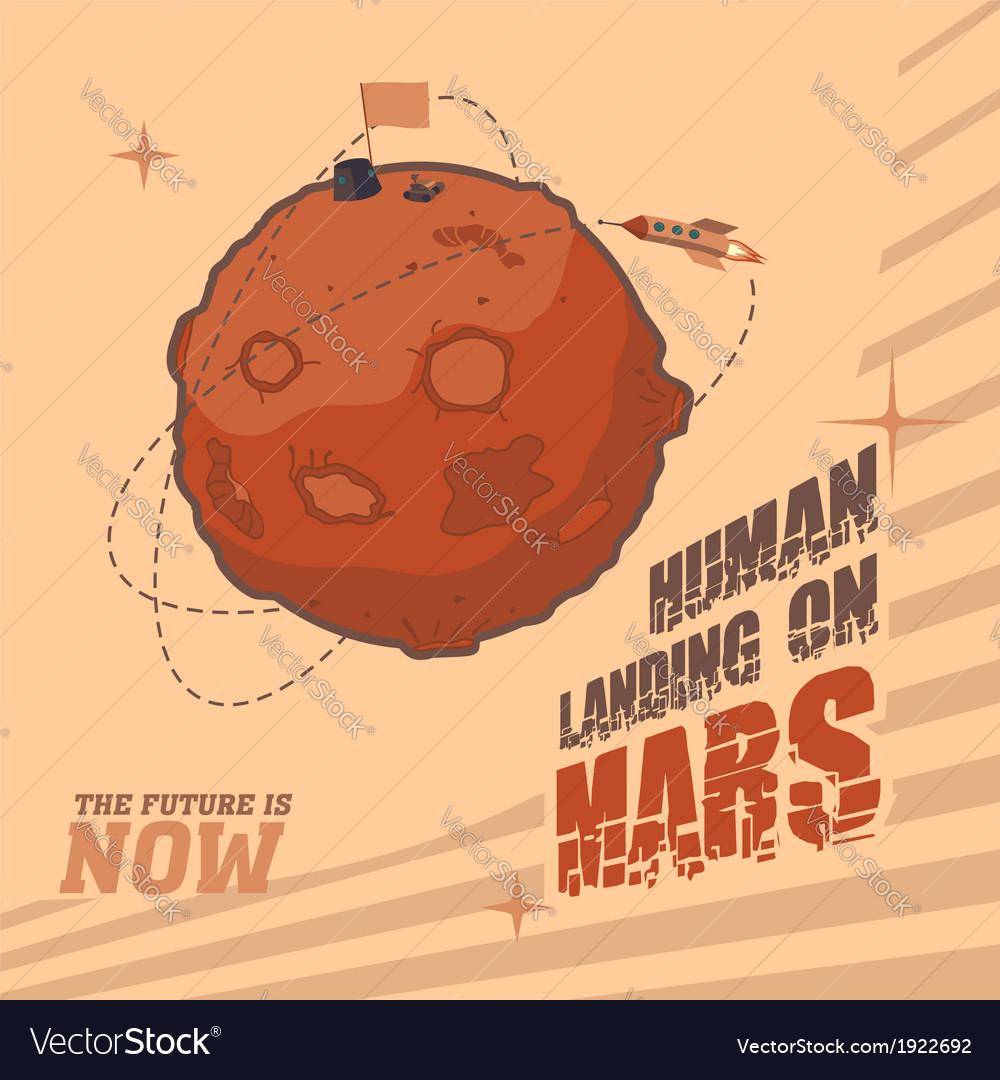 Human landing on Mars