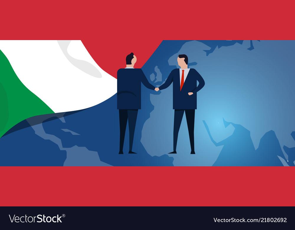 Italy international partnership diplomacy