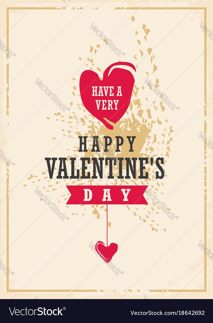 Valentines day creative card design