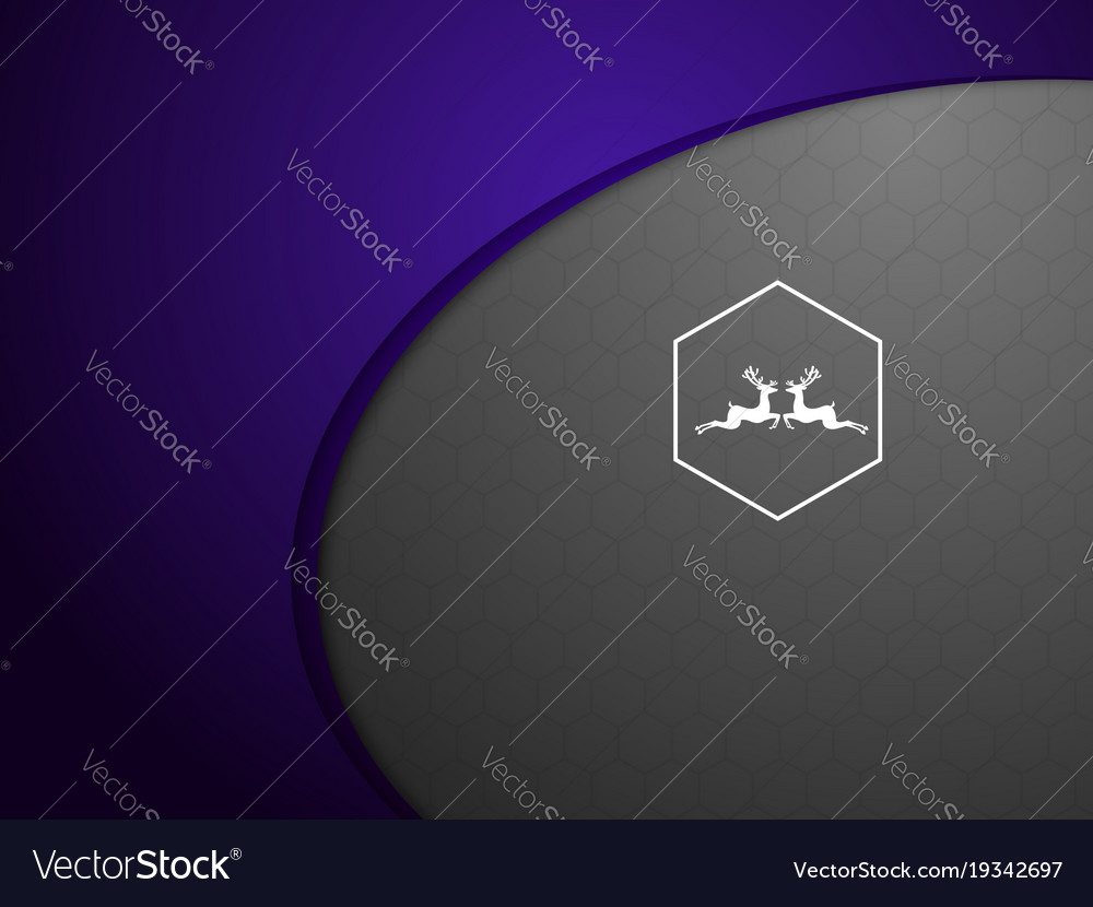 Abstract purple on gray background