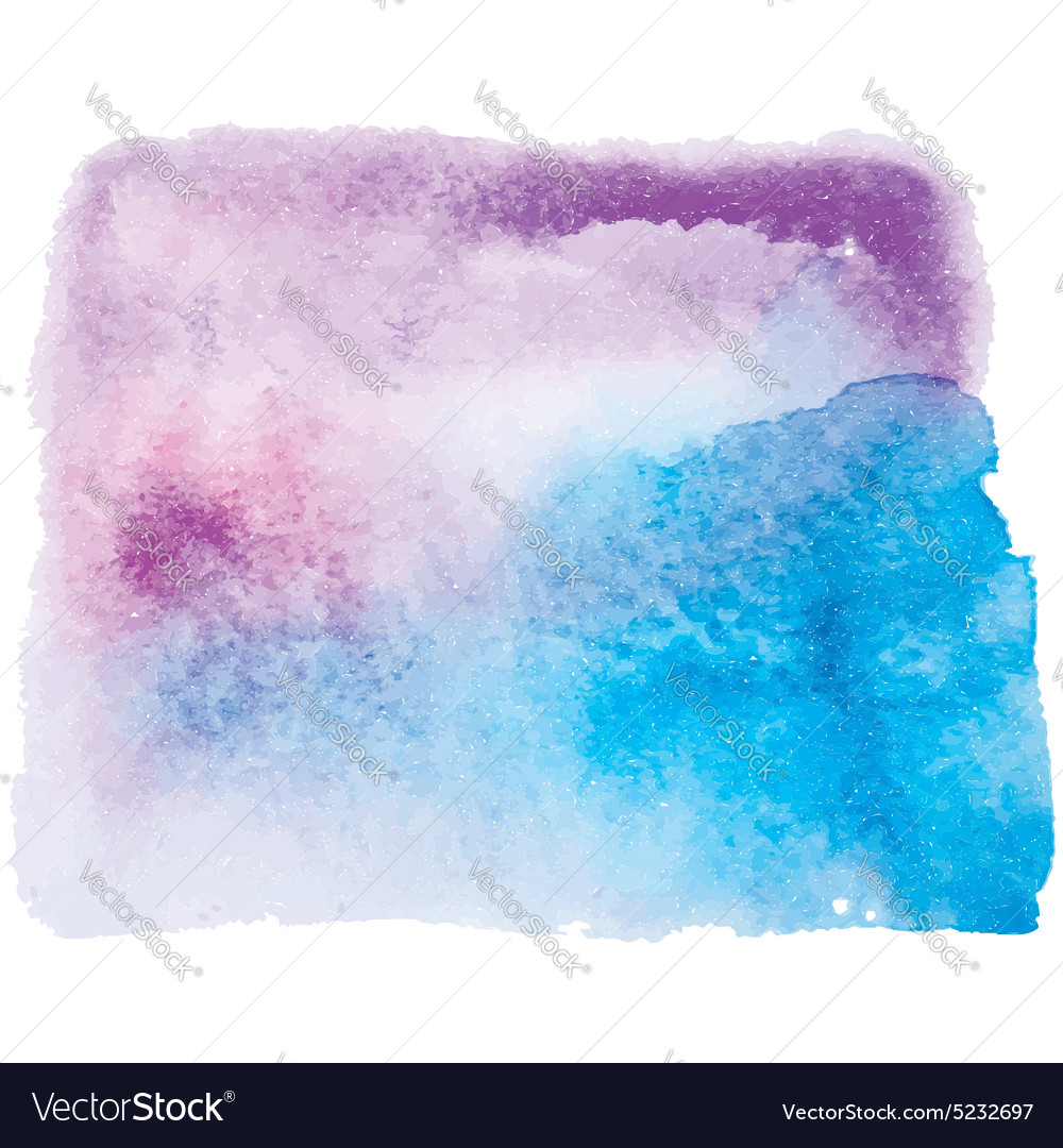 Blue and pink watercolor background