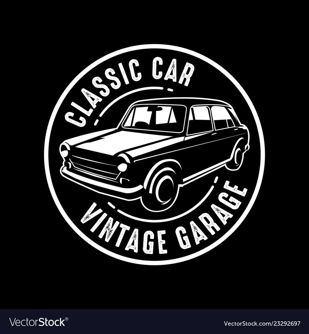 Car badge and logo good for print