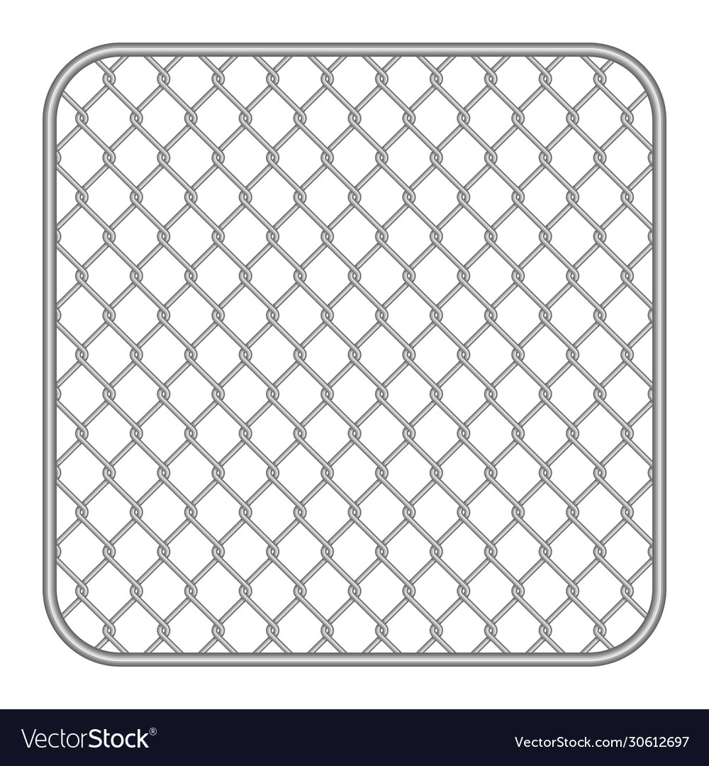 Metal fence wire mesh