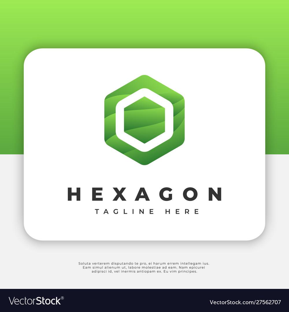 Hexagon logo design inspiration