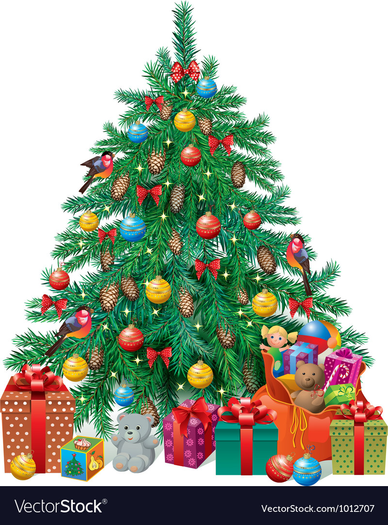Spruced Christmas tree