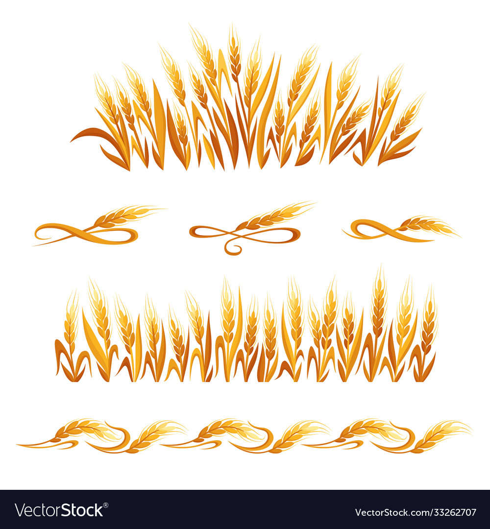 Wheat ears decorations