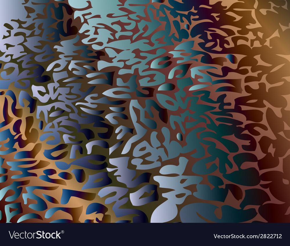 Leopard pattern repeating background vector image