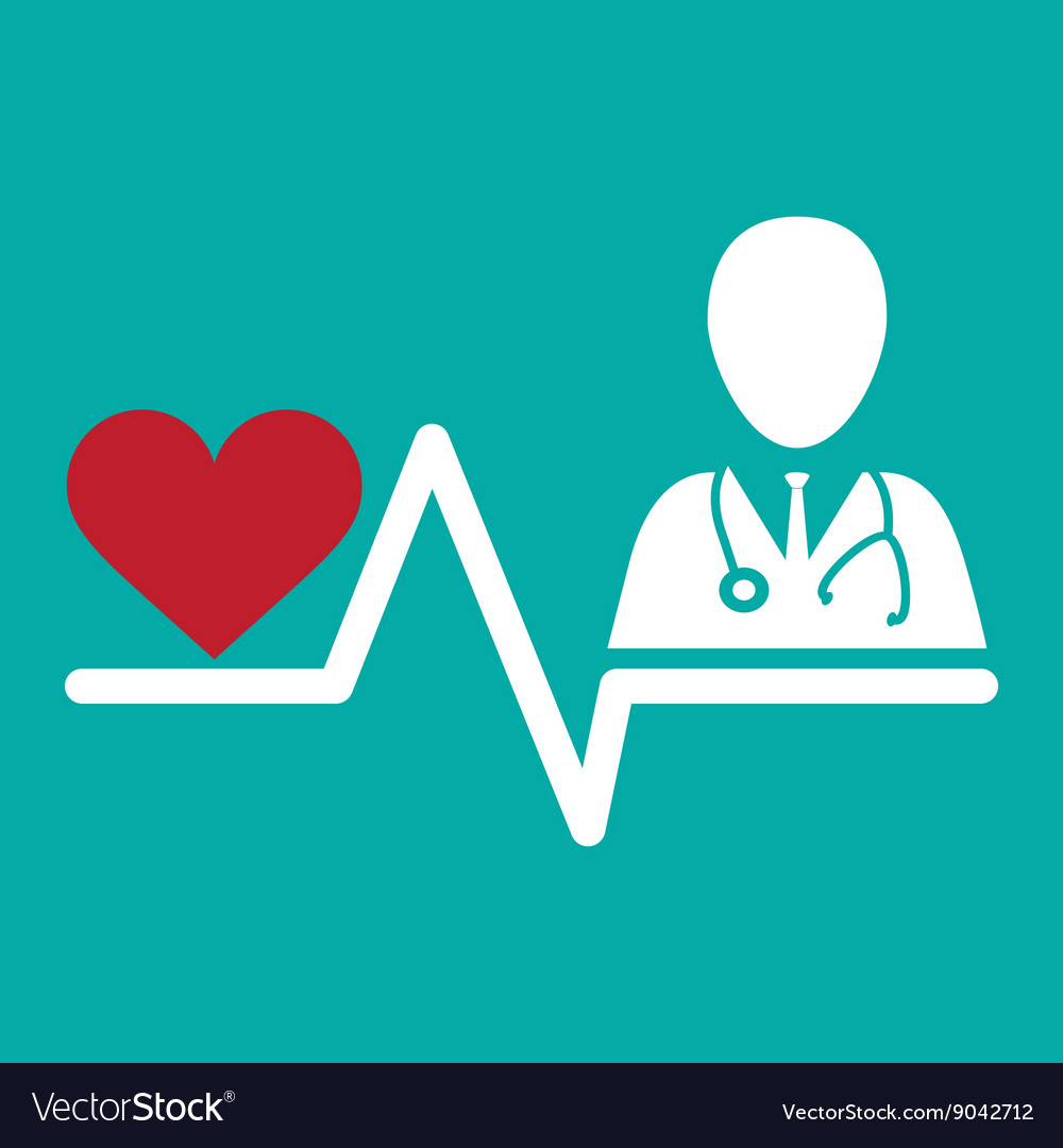 Medical design Care icon Health concept