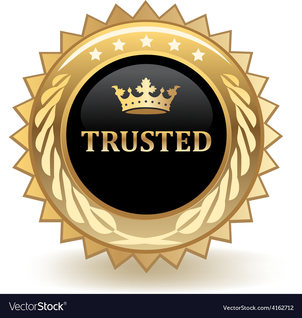 Trusted Royalty Free Vector Image - VectorStock