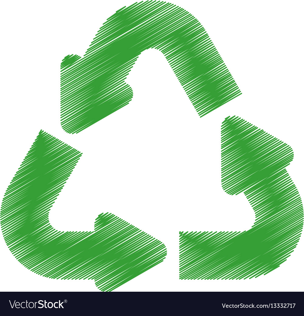 Green arrow recycle environment design
