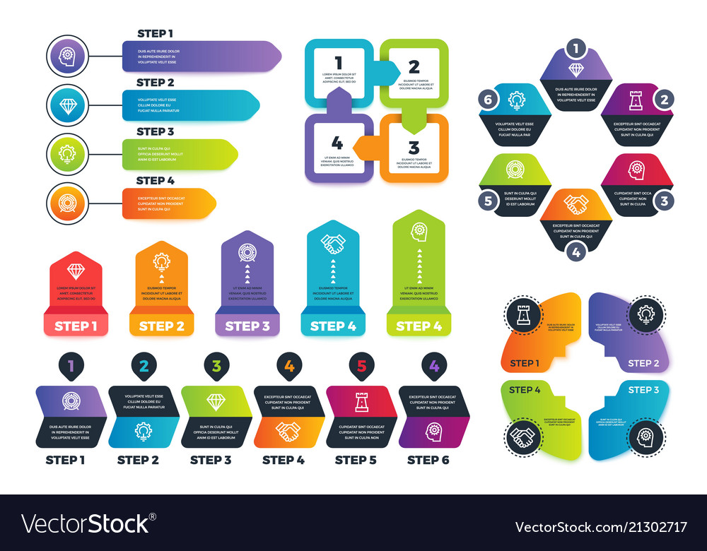 Process infographics business infographic