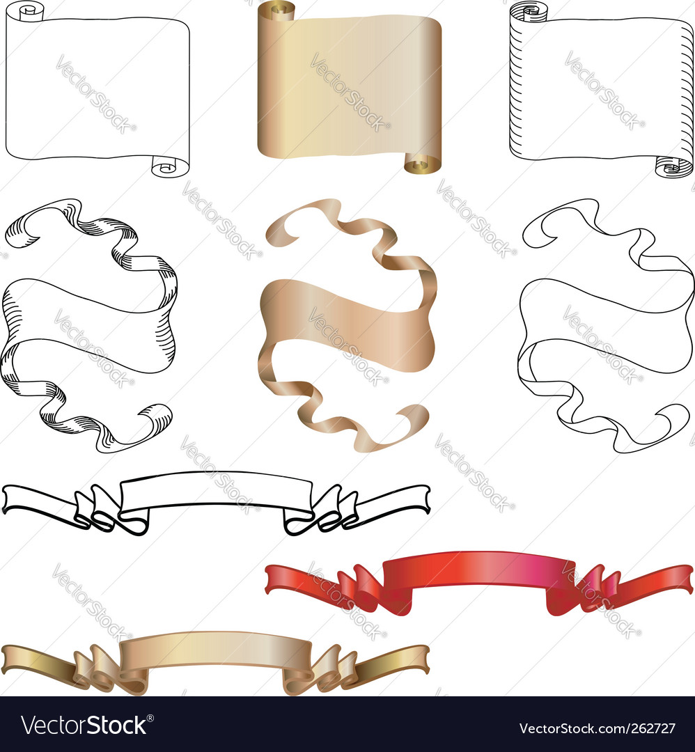 blank scroll paper. lank scroll clip art.