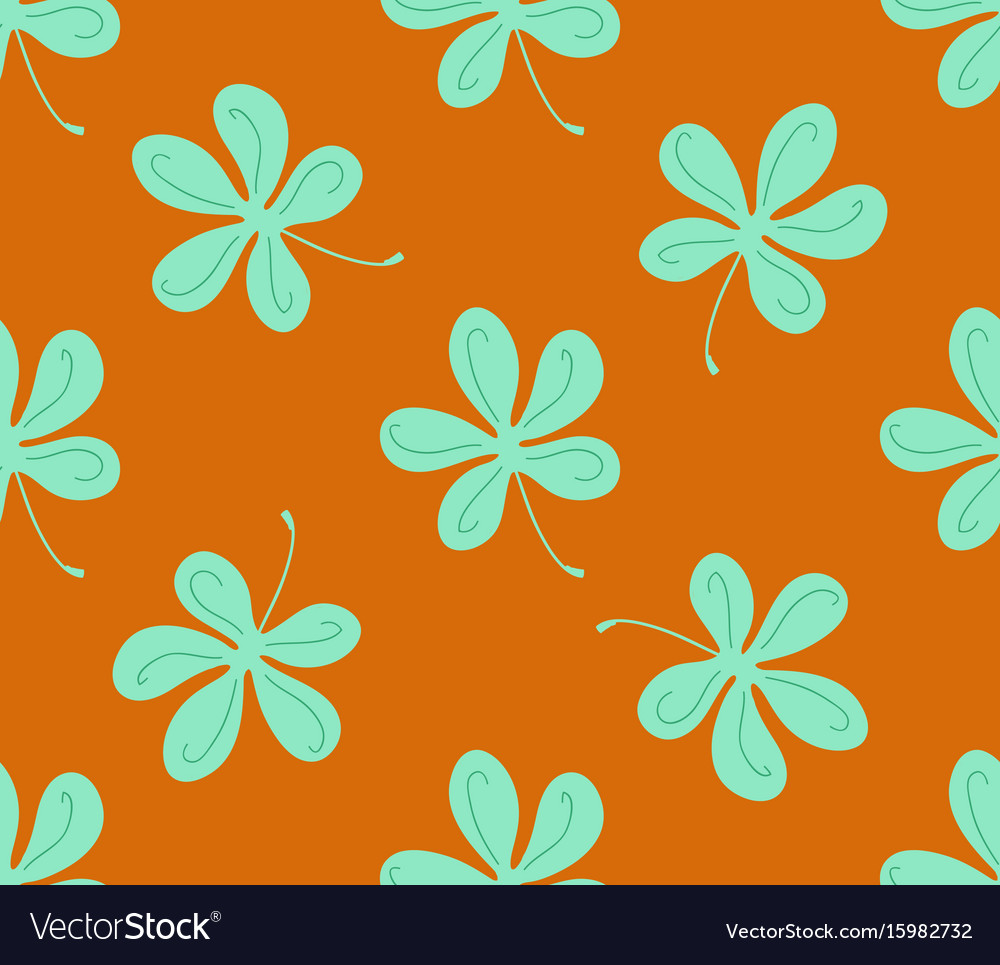 Background texture plant vector image