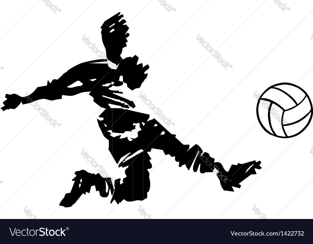 Soccer player shooting in black and white