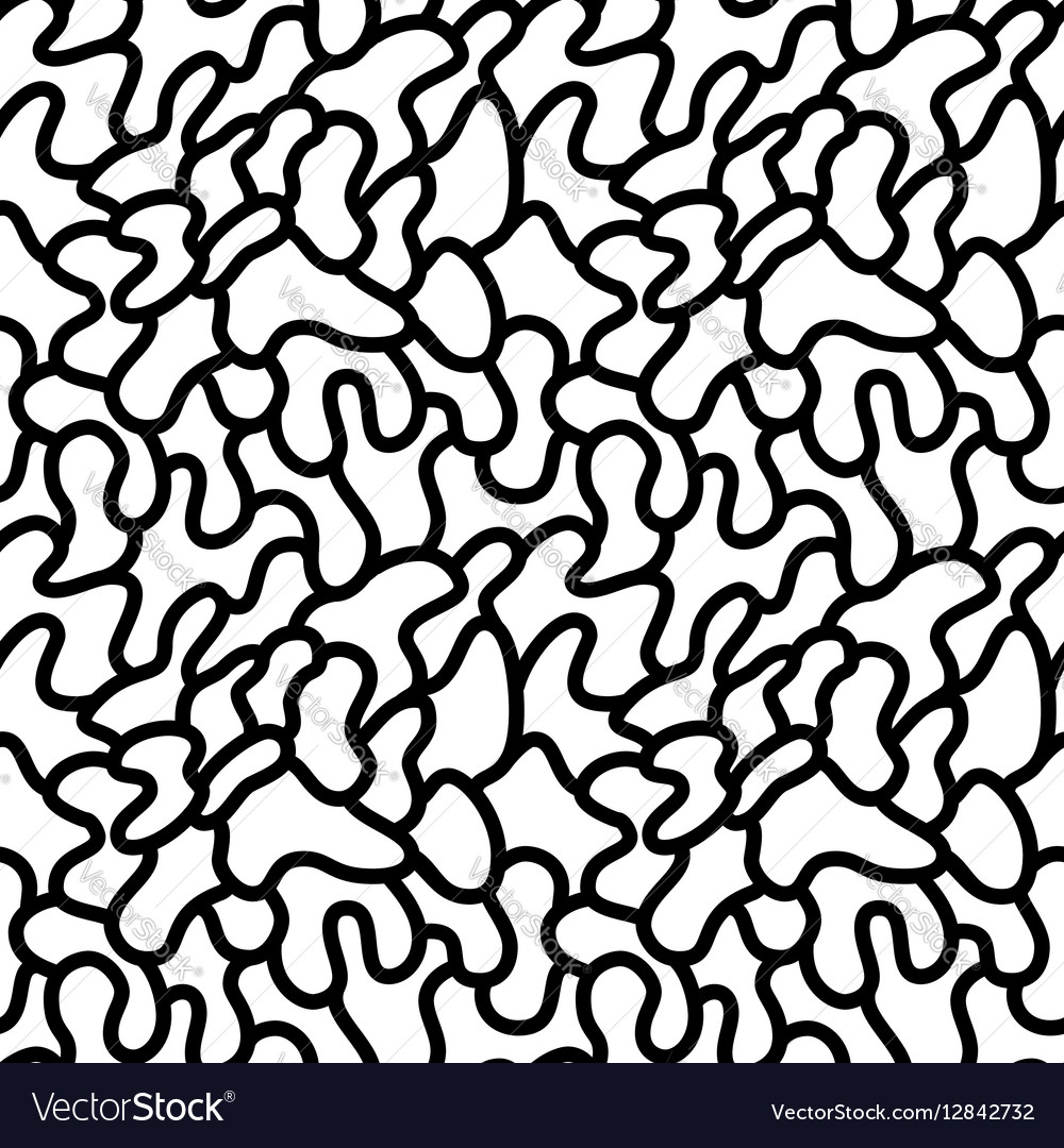 Trendy memphis style seamless pattern inspired by vector image
