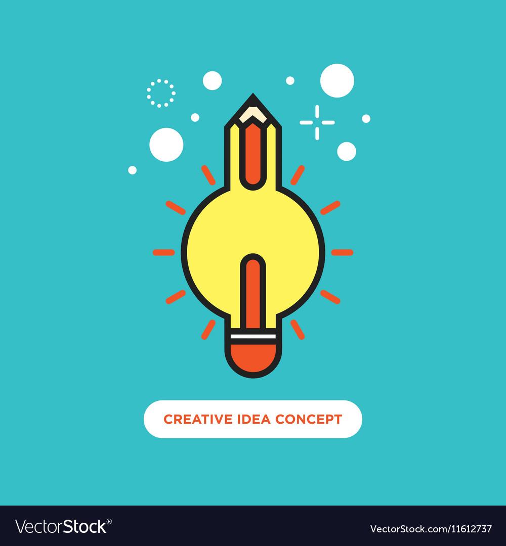 Creative idea concept inspiration process