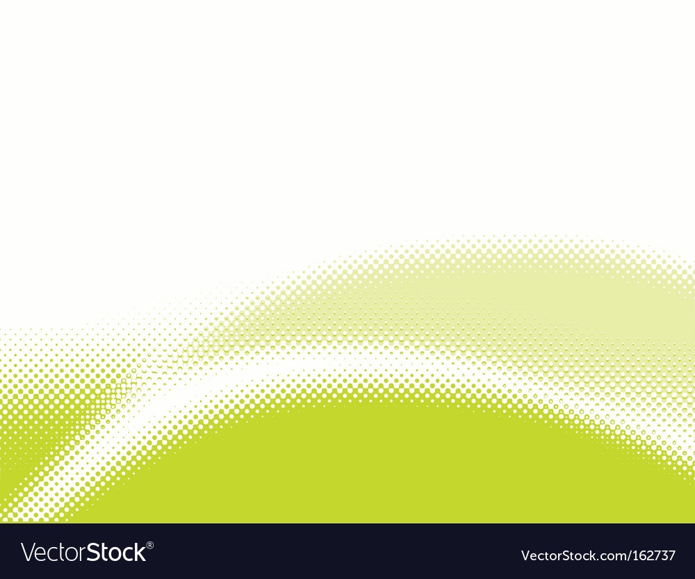 Stylish halftone background vector image
