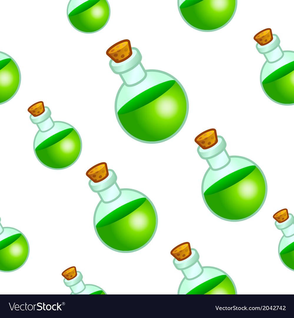 Round botle background