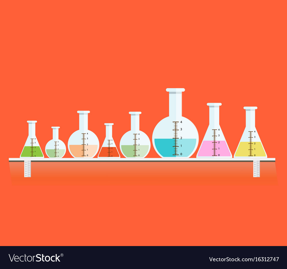 Colorful of test tubes or medical tubes