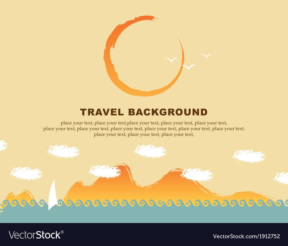 Background travel