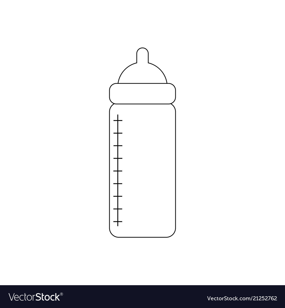 Baby bottle with nutrition