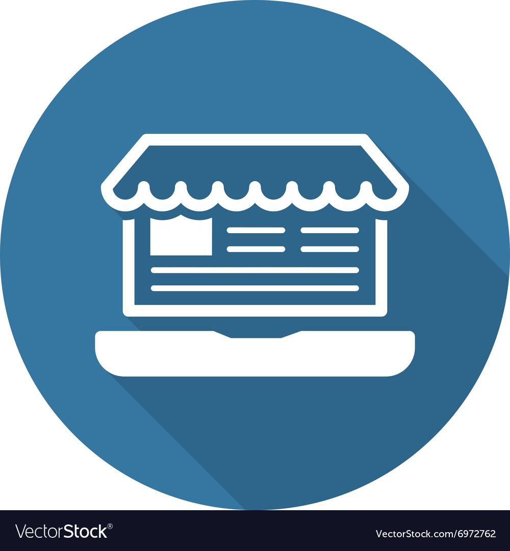 Online Store Icon Business Concept