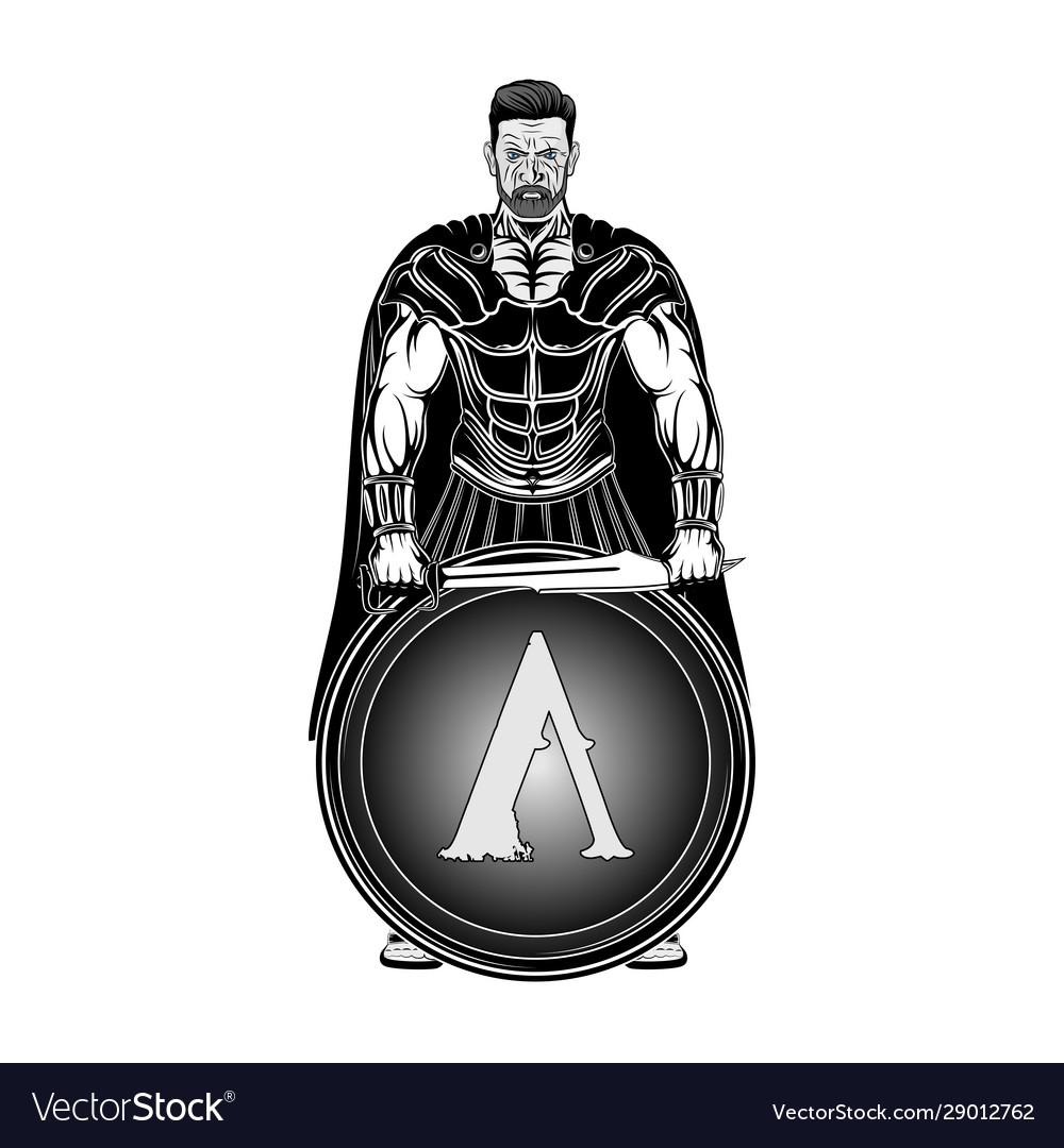 Sparta warrior 0001