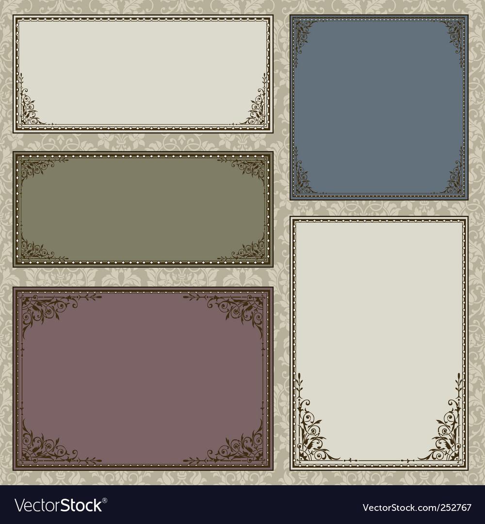 ornate frame as for frame