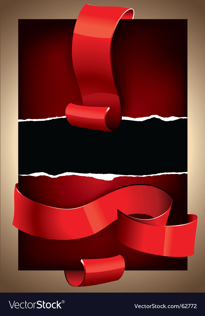 Background ribbons