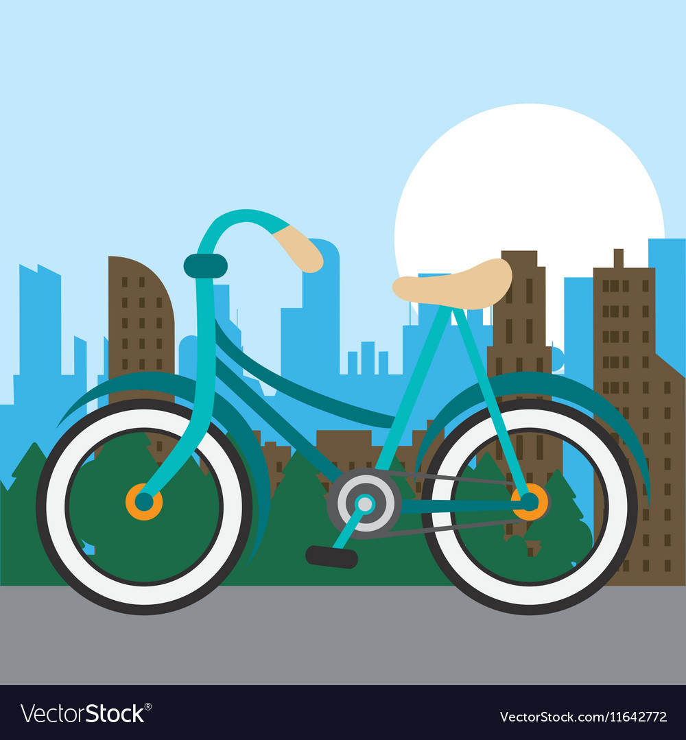 Bike city and healthy lifestyle design