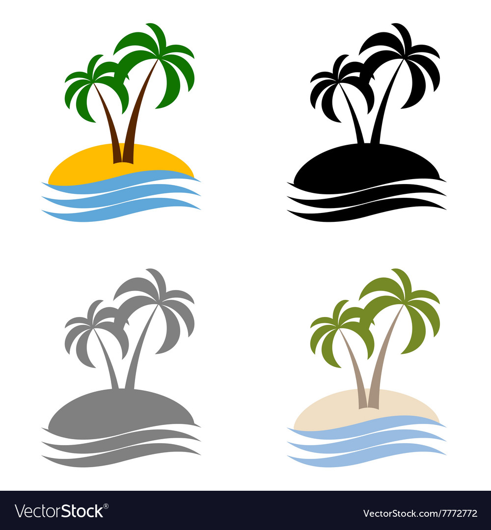 Set palms logo