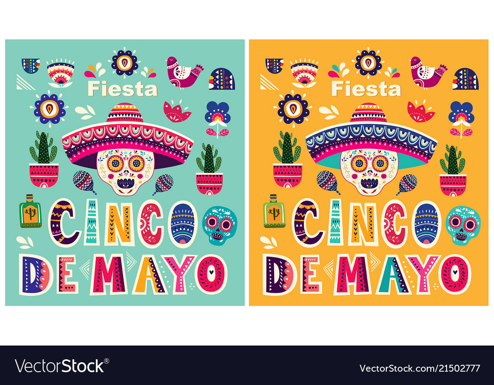 Beautiful templates for mexican holiday 5 may cinc
