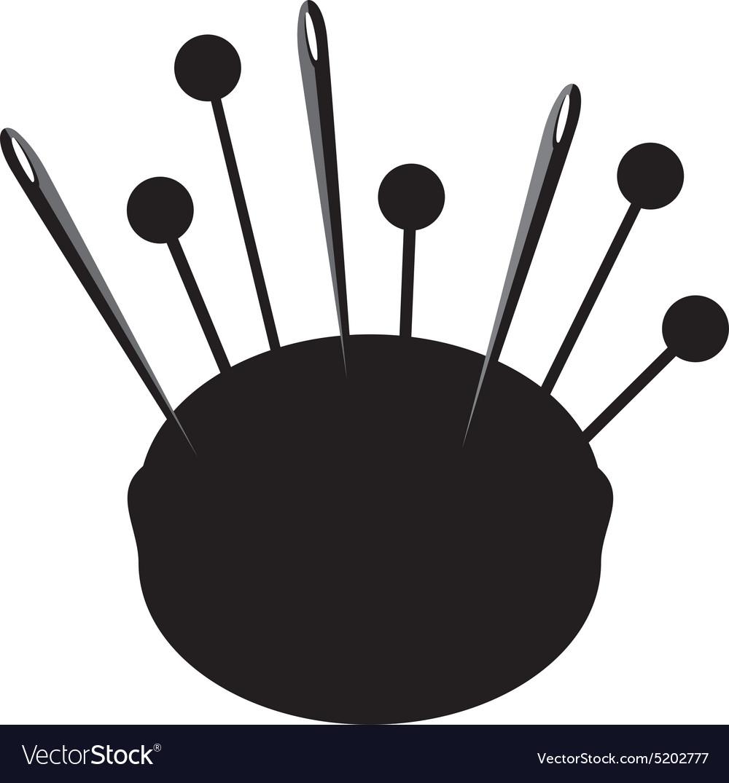 Pincushion silhouette