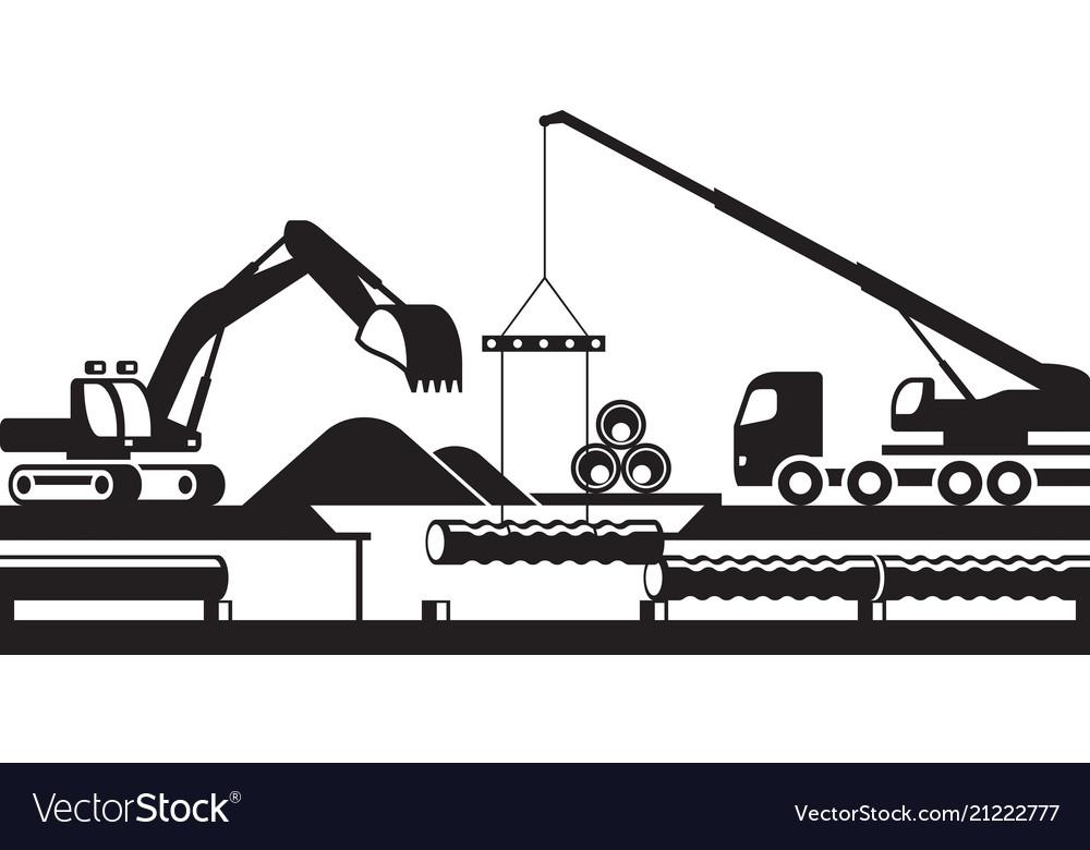 Replacement of underground pipelines